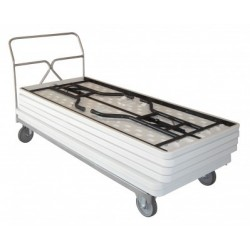 Chariot porte tables rectangulaires de 400 kg