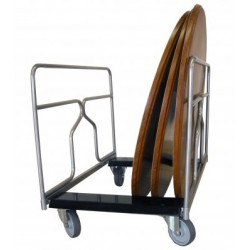 Chariot porte tables rondes ou rectangulaires de 300 kg