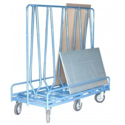 Chariot porte baies 2 faces 1200 kg