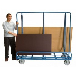 Chariot porte baies 2 faces 600 kg